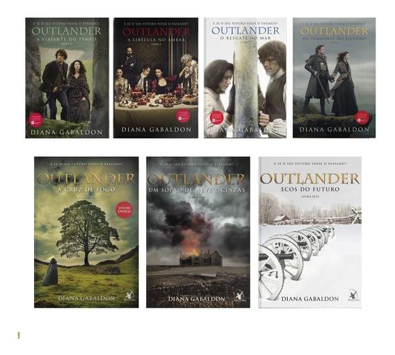 Vol. 1 2 3 4 5 6 E 7 Coleção Completa Serie Outlander 7 Unid