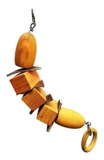Juguete Mod. Banana Para Loros, Pericos Y Guacamayas, Toda Una Línea De Juguetes Especializados Y Seguros Para Tus Aves