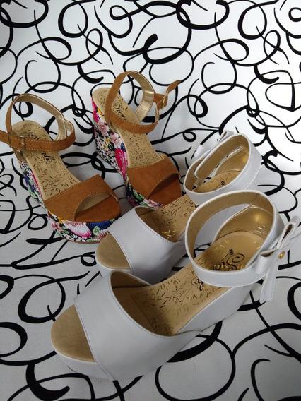 Zapatos Lindos Divinos Plataformas Altas Moda Envío Gratis