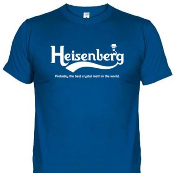 Camisetas Filmes Séries Breaking Bad Heisenberg-