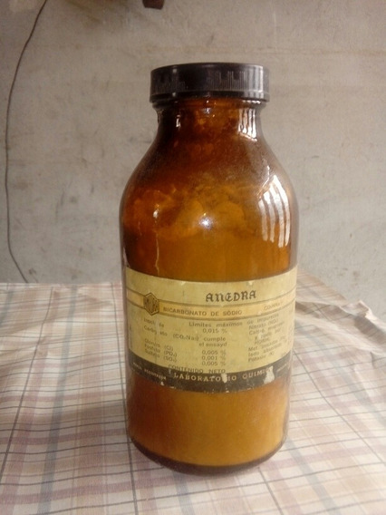 Frasco De Farmacia Antiguo