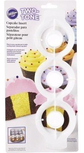 Accesorio Plastico Para Crear 2 Tonos De Cupcakes Wilton
