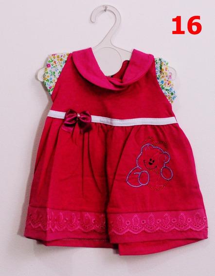 Kit 10 Vestidos Infantis Menina 3-6 Meses Frete Grátis