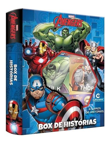 Imagem 1 de 2 de Box De Historias Vingadores 6 Livros Culturama Bonellihq C19