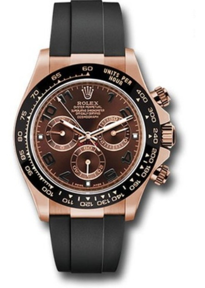 Relógio Daytona Inoxidável ,safira , Pulseira De Silicone