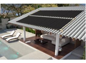 Aquecedor Solar Para Piscina De 5,5 Mts X 2,5 Mts Completa
