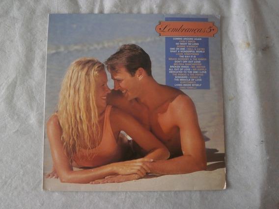 Lp Lembranças 5, Disco De Vinil Romanticas Seminovo, 1982