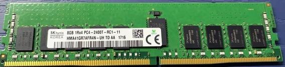 Memoria Hynix 8gb 1rx4 Pc4-2400t Pc4-19200 Dell Hp Ibm Gen9