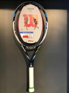 Raqueta Tenis Wilson Juice 100 - 27 In Con Funda Gratis