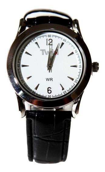 Relógio Twik Class Pulseira Couro Garantia 1ano Frete Grátis