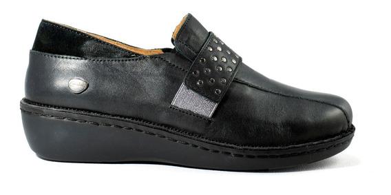 Zapatos Zapatillas Mujer Cavatini Cuero Vacuno Pie Delicado