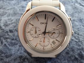 Relógio Original Donna Karan Branco Dkny