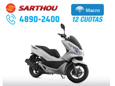 Honda Scooter Pcx 150 2017 0km Macro 12 Cuotas Sarthou