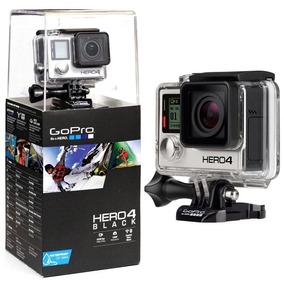 Câmera Go Pro Hero 4 Black Kit Completo Original + Frete