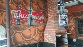 Luminaria Pendente (artesanal) Garrafa Jack Daniels