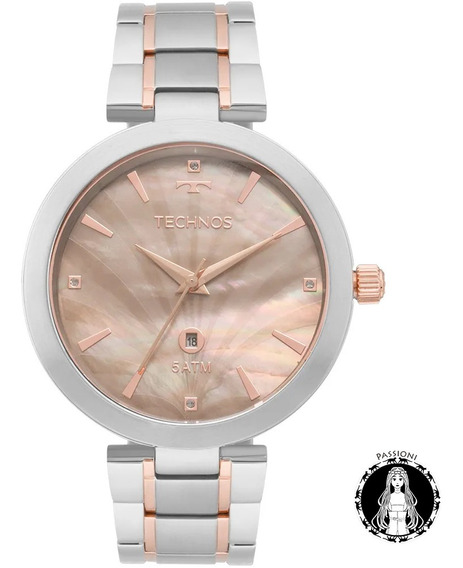 Relógio Technos Elegance St.moritz Gl10ie/5f C/ Nf Garant. U