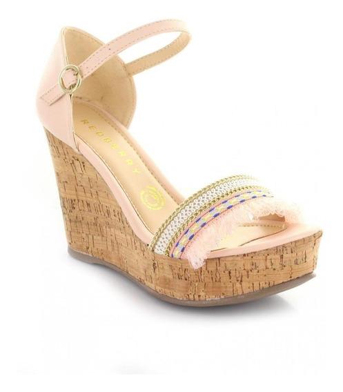 Sandalia Para Mujer Redberry 6656-048905 Color Amarillo