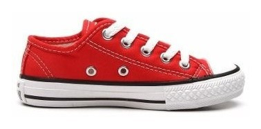Tênis Converse All Star Kids Ct As Core Ox Vermelho C Nota F