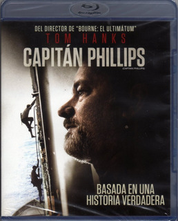 Capitán Phillips ( Tom Hanks ) Bluray Original Nuevo Sellado