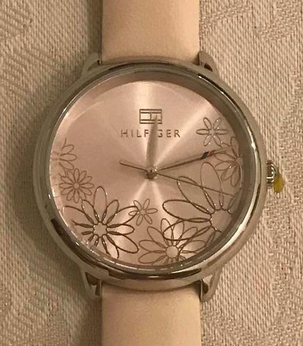 Relógio Tommy Hilfiger Feminino Couro Rosa