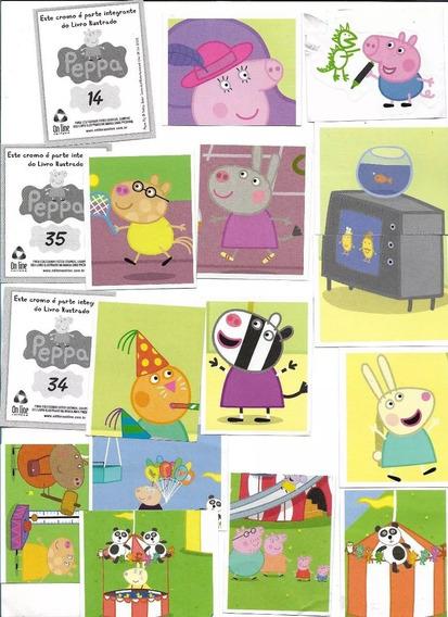 Lote C/ 184 Figurinhas Álbum Peppa Pig 2014 - Só As Figuras.