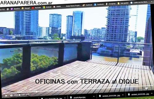 Imagen 1 de 6 de Alquiler Oficinas Alicia Moreau De Justo  1930 Dock 18 1300m2 O Mas