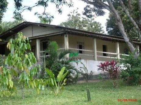 Sítio Com 4 Dormitórios À Venda, 12200 M² Por R$ 400.000,00 - Monte Gordo - Camaçari/ba - Si0025