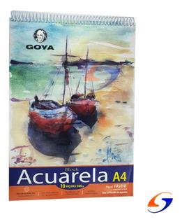 Block Dibujo Acuarela Goya A4 Serviciopapelero