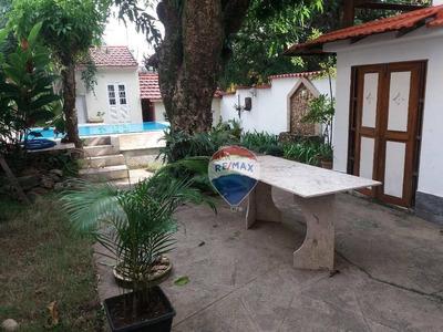 Casa Residencial À Venda, Tijuca, Rio De Janeiro. - Ca0021
