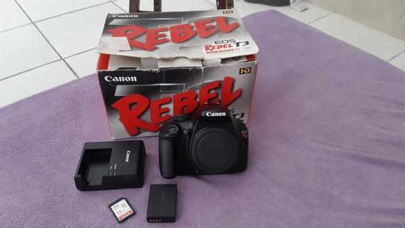 Câmera Dslr Canon T3