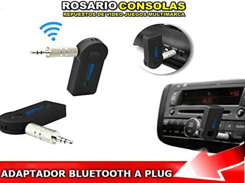 Adaptador Bluetooth A Ficha Mini Plug 3,5 Ideal Para El Auto