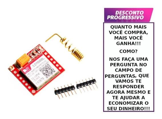 Módulo Gprs Gsm Sim800l Quad Band Para Arduíno
