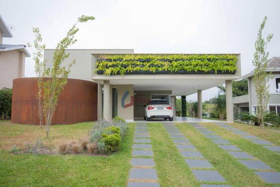 Casa Com 4 Dormitórios À Venda, 289 M² - Alphaville Graciosa - Pinhais/pr - Ca0027