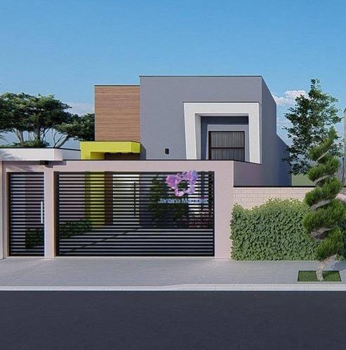 Imagem 1 de 13 de Casa Com 3 Dormitórios À Venda, 98 M² Por R$ 420.000,00 - Jardim Bela Vista - Araçariguama/sp - Ca0212