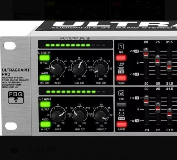 Equalizador Behringer Fbq 3102 31 Bandas
