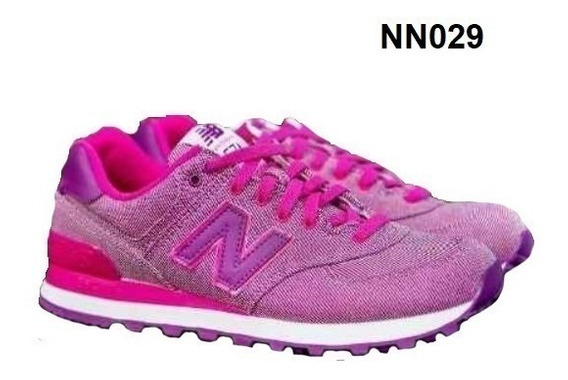 Zapatillas New Balance 574 De Mujer Originales Ver 8 Colores