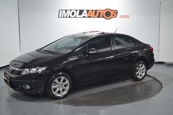 Honda Civic 1.8 Exs M/t 2013 -imolaautos-