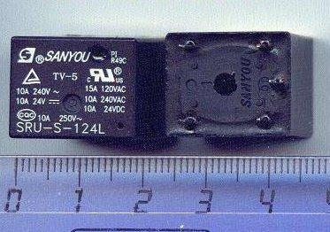 5x - Unidades - Rele Sanyou Sru-s-124l   Sru S 124l