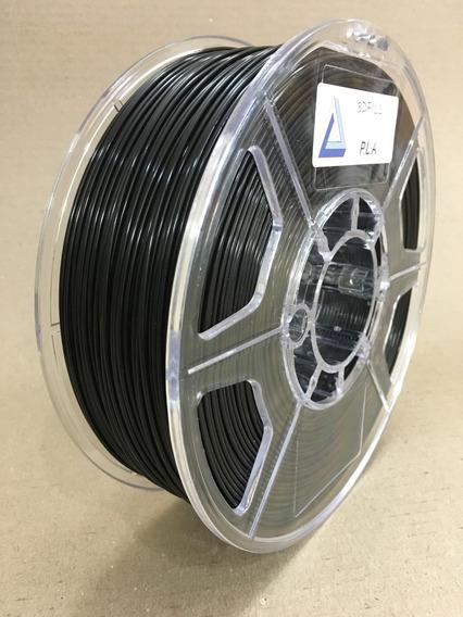 Filamento 3d Pla _ 1,75 Mm _ 1kg - Preto _ Frete Grátis