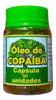 Óleo De Copaiba Pura C/50 Capsulas