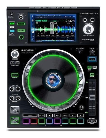 Cdj Player Digital Denon Dj Sc5000 - Loja Denon