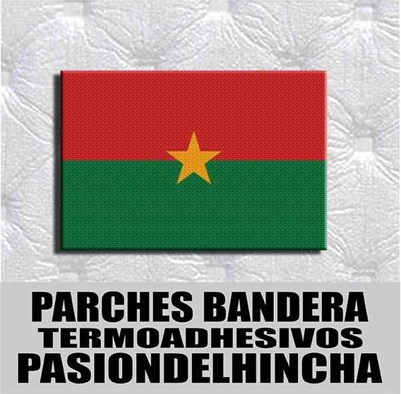 Parche Termoadhesivo Bandera Burkina Faso
