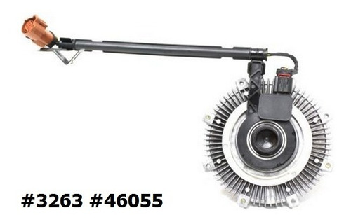 Fan Clutch De Ventilador Mercury Mountaineer 2007 - 2010