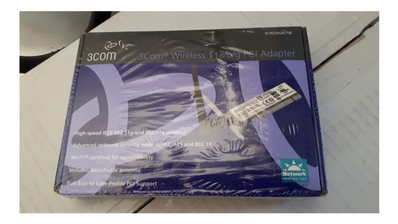 3com Wireless Pci Adapter 3crdag675b Wifi Pc Vieja