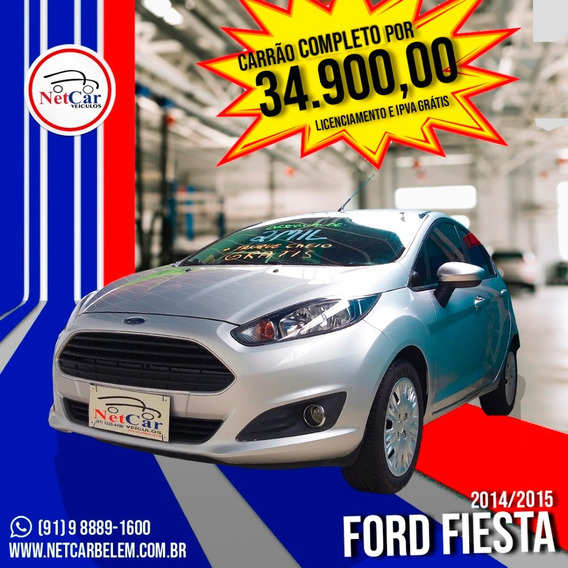 Ford Fiesta | Motor 1.6 | Ano 2015