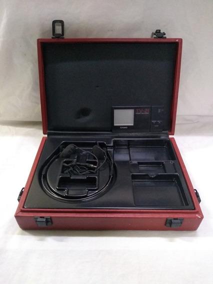 Mini Tv-21 Casio Colec, Leia Descrição L51