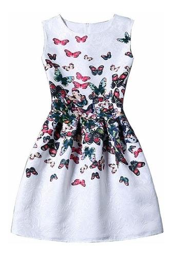 Vestido Elegante Mariposas Talla S Nuevo Importado En Stock