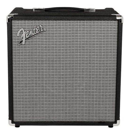 Amplificador Fender Rumble 40 Transistor 40W negro y plata 220V