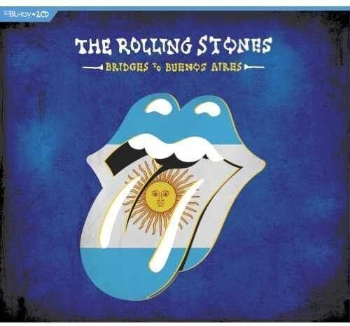 Rolling Stones Bridges To Buenos Aires 2 Cd + Bluray 2019