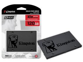 Ssd 120gb Kingston 120 Gb A400 500mb/s Lacrado Sa400s37/120g